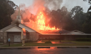 Church Fires in Northwest Florida